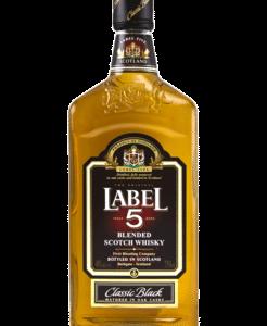 label 5 70cl