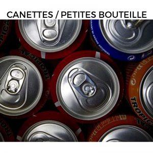 Canettes / Petites bouteille