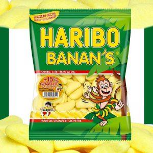 haribo bananes