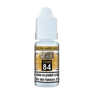 e-liquide blonde us 6mg