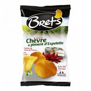 chips chèvre/piment d'espelette