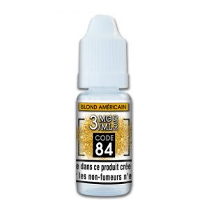 e-liquide blonde us 3mg