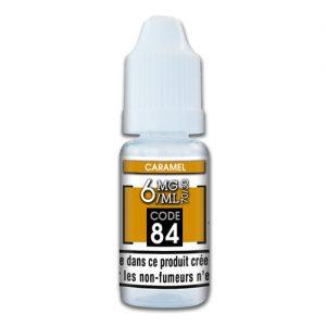 e-liquide caramel 6mg