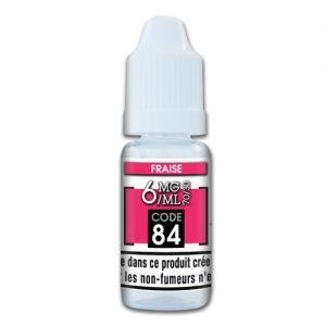 e-liquide fraise 6mg