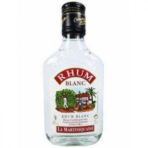 flask rhum blanc